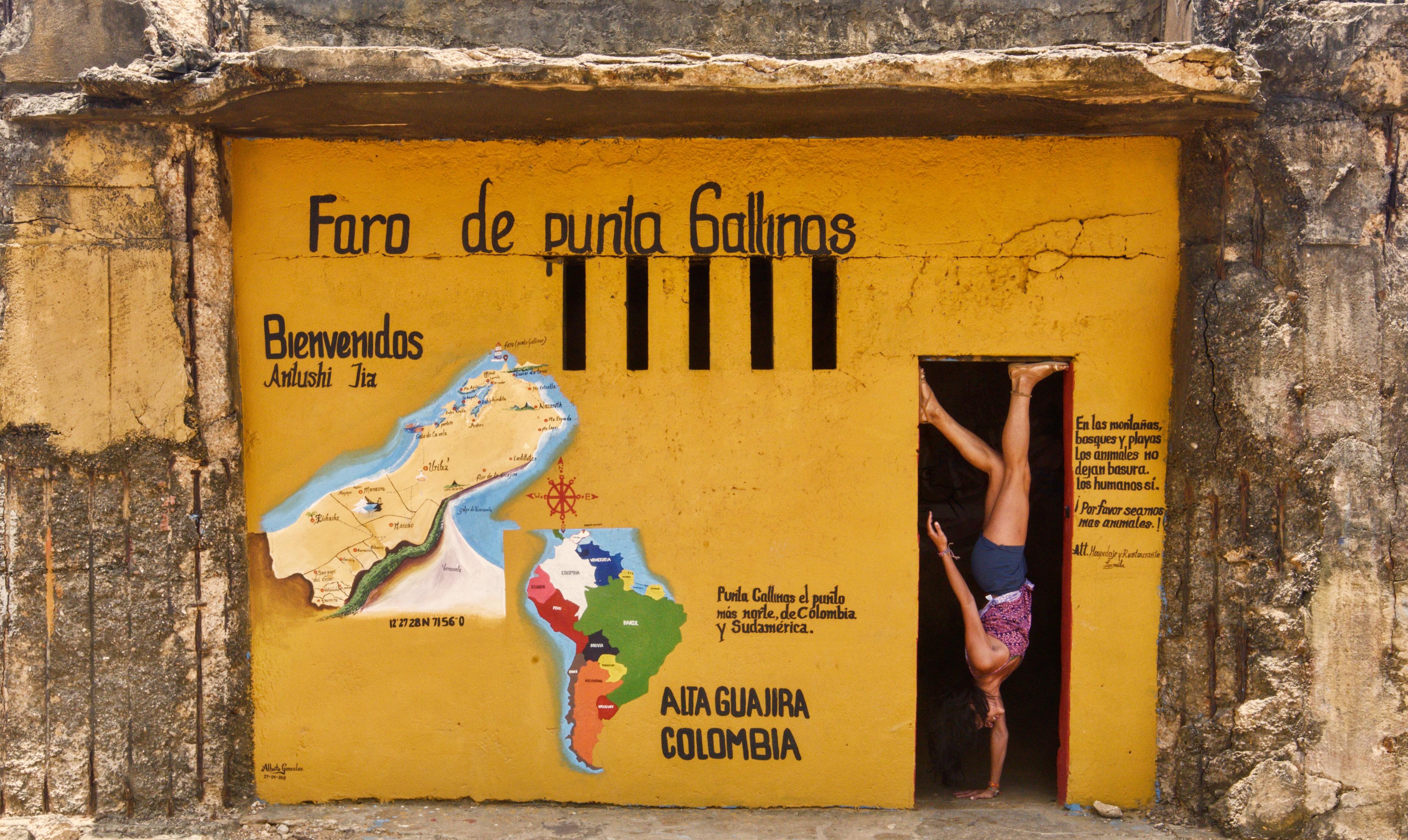 Attempted Hairstand at Punta Gallinas